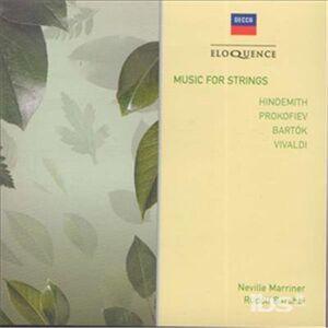 CD Music for Strings di Bela Bartok