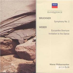 CD Sinfonia n.2 di Anton Bruckner