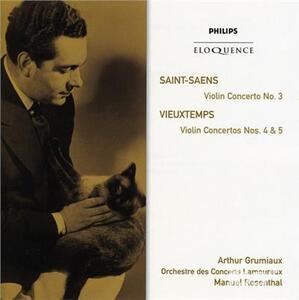 Saint Saens. Violin Conce - CD Audio di Camille Saint-Saëns,Arthur Grumiaux