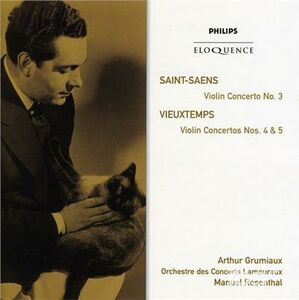 CD Saint Saens. Violin Conce di Camille Saint-Saëns