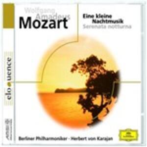 Eine Kleine Nachtmusik - CD Audio di Wolfgang Amadeus Mozart,Herbert Von Karajan