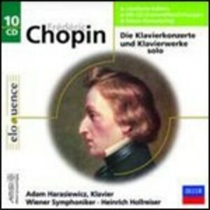 CD Musica per pianoforte di Fryderyk Franciszek Chopin