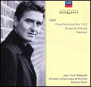 CD Concerti per pianoforte n.1, n.2 - Totentanz - Fantasia ungherese di Franz Liszt