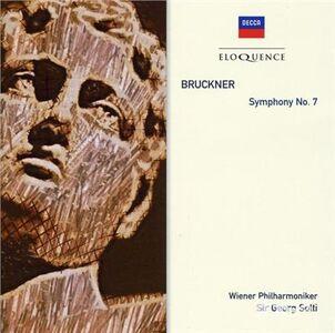 Foto Cover di Sinfonia n.7, CD di Anton Bruckner,Georg Solti, prodotto da Eloquence