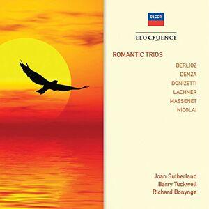 Foto Cover di Romantic Trios, CD di  prodotto da Eloquence