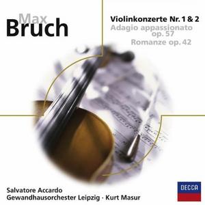 CD Concerti per Violino 1 & 2 di Max Bruch