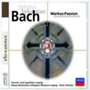 Foto Cover di La Passione secondo Marco, CD di Johann Sebastian Bach,Peter Schreier, prodotto da Decca