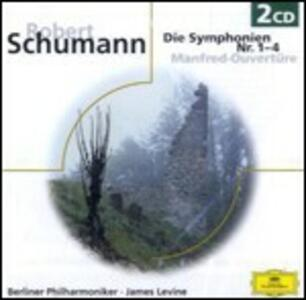 Sinfonie complete - CD Audio di Robert Schumann,James Levine,Berliner Philharmoniker