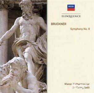 Foto Cover di Bruckner Symphony No.8, CD di Anton Bruckner,Georg Solti, prodotto da Eloquence
