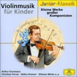 Violinmusik fur Kinder - CD Audio