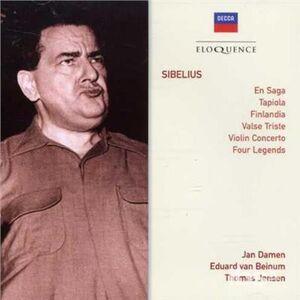 CD En Saga di Jean Sibelius