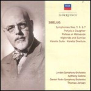 CD Sinfonie n.5, n.6, n.7 - Poemi sinfonici di Jean Sibelius
