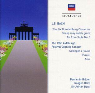 CD Concerti Brandeburghesi di Johann Sebastian Bach