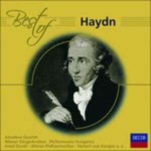 CD Best of Haydn di Franz Joseph Haydn