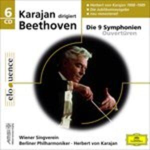 CD Symphonies 1 - 9 - Overtures di Ludwig van Beethoven