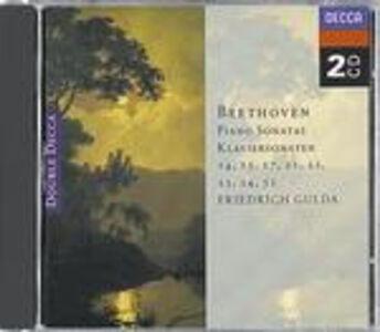 CD Sonate per pianoforte n.14, n.15, n.17, n.22, n.21, n.23, n.24, n.32 di Ludwig van Beethoven