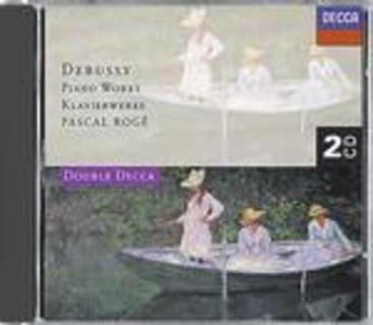 Musiche per pianoforte - CD Audio di Claude Debussy,Pascal Rogé