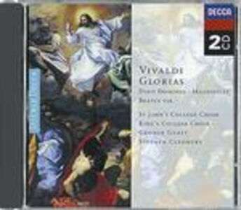 CD Gloria - Dixit Dominus - Magnificat - Beatus Vir di Antonio Vivaldi