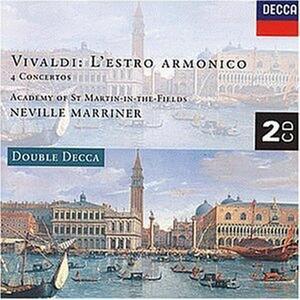 L'estro armonico - 4 Concerti - CD Audio di Antonio Vivaldi,Neville Marriner,Academy of St. Martin in the Fields