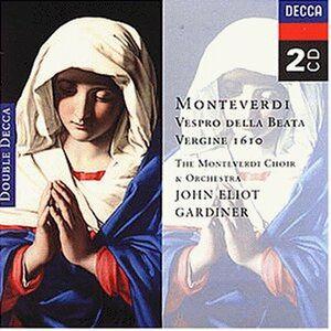 CD Vespro della Beata Vergine di Claudio Monteverdi