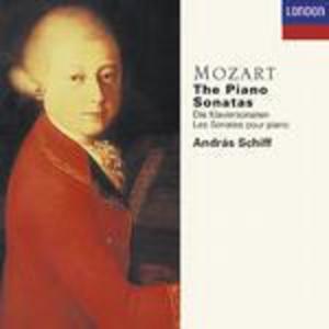 CD Sonate per pianoforte complete di Wolfgang Amadeus Mozart