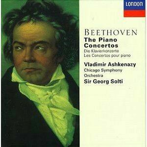 Concerti per pianoforte completi - CD Audio di Ludwig van Beethoven,Vladimir Ashkenazy,Georg Solti,Chicago Symphony Orchestra
