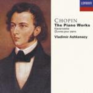 Foto Cover di Musiche per pianoforte complete, CD di Fryderyk Franciszek Chopin,Vladimir Ashkenazy, prodotto da Decca