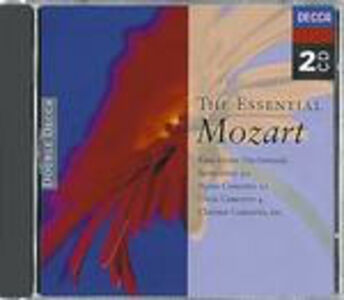 CD The Essential Mozart di Wolfgang Amadeus Mozart