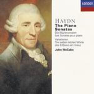 Sonate per pianoforte complete - CD Audio di Franz Joseph Haydn,John McCabe