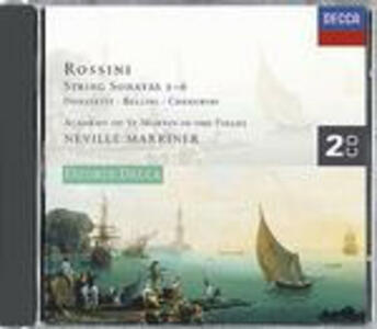 Sonate per archi - CD Audio di Gioachino Rossini,Neville Marriner,Academy of St. Martin in the Fields