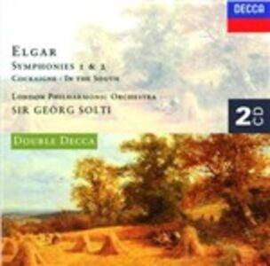 Foto Cover di Sinfonie, CD di Edward Elgar,London Philharmonic Orchestra, prodotto da Decca