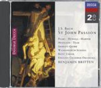 CD La Passione secondo Giovanni di Johann Sebastian Bach