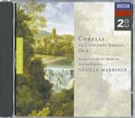 CD Concerti grossi op.6 Arcangelo Corelli Sir Neville Marriner Academy of St. Martin in the Fields