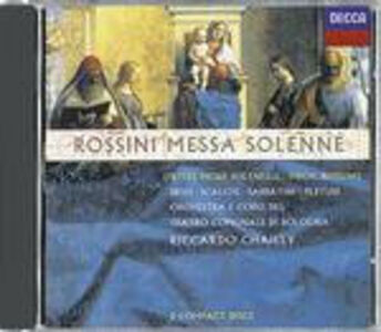 CD Messa Solenne di Gioachino Rossini