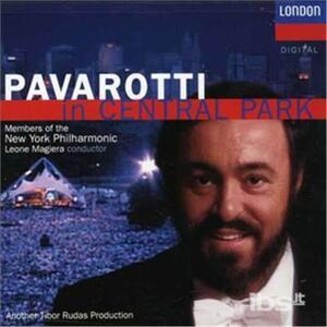 In Central Park - CD Audio di Luciano Pavarotti