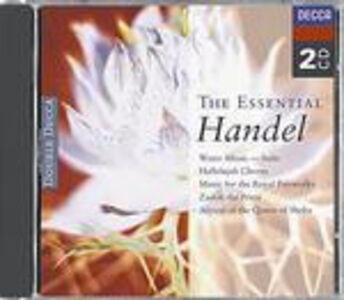 Foto Cover di The Essential Händel, CD di Georg Friedrich Händel, prodotto da Decca