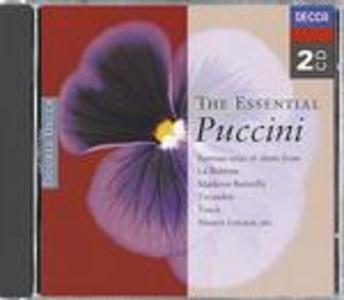 CD The Essential Puccini di Giacomo Puccini