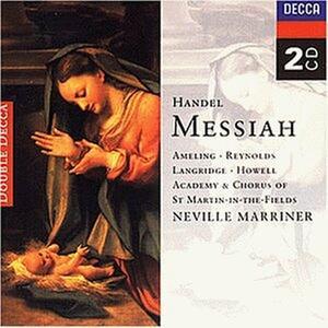 Il Messia - CD Audio di Neville Marriner,Georg Friedrich Händel,Academy of St. Martin in the Fields