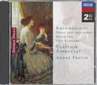 CD Musiche per due pianoforti Sergei Vasilevich Rachmaninov André Previn Vladimir Ashkenazy
