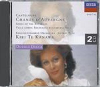 CD Chants d'Auvergne di Marie-Joseph Canteloube de Malaret