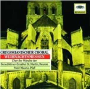 Gregorian Chant - Christmas Masses - CD Audio