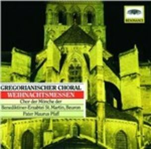 CD Gregorian Chant - Christmas Masses