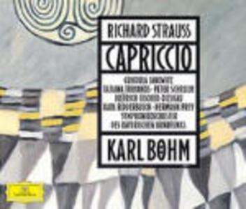 Capriccio - CD Audio di Richard Strauss,Gundula Janowitz,Peter Schreier,Tatiana Troyanos,Arleen Auger,Karl Böhm,Orchestra Sinfonica della Radio Bavarese