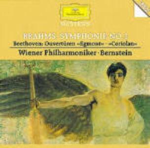 CD Sinfonia n.1 / Ouverture Egmont - Ouverture Coriolano Ludwig van Beethoven , Johannes Brahms
