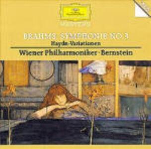 CD Sinfonia n.3 - Variazioni su un tema di Haydn di Johannes Brahms