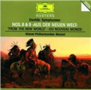 CD Sinfonie n.8, n.9 di Antonin Dvorak
