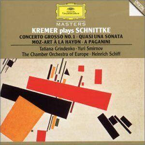 CD Concerto grosso n.1 - Quasi una sonata - Moz-Art à la Haydn di Alfred Schnittke