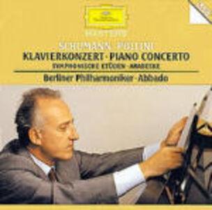 CD Concerto per pianoforte - Studi Sinfonici - Arabesque op.18 di Robert Schumann
