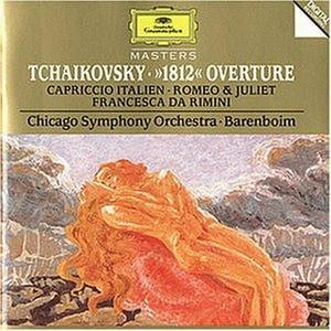 CD Capriccio italiano - Ouverture 1812 - Francesca da Rimini di Pyotr Il'yich Tchaikovsky