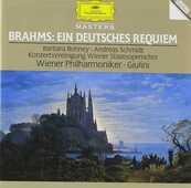 CD Un Requiem tedesco (Ein Deutsches Requiem) Johannes Brahms Carlo Maria Giulini Barbara Bonney